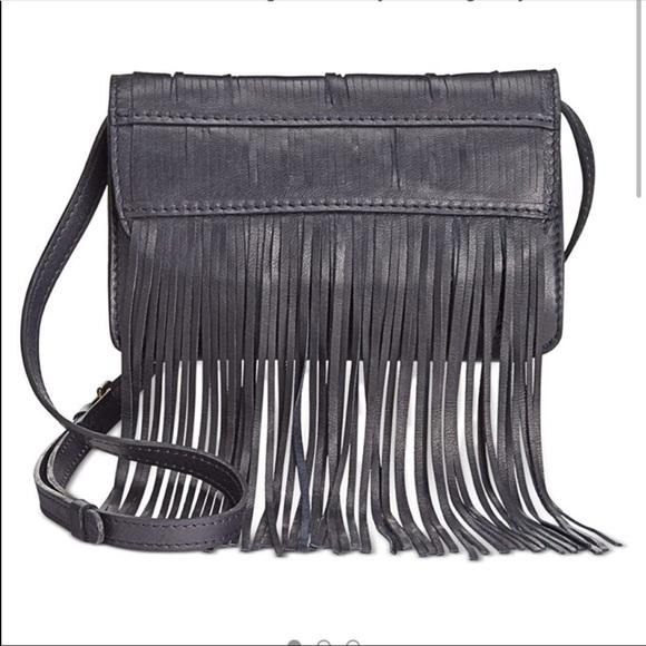 Patricia Nash Tori Leather fringe crossbody